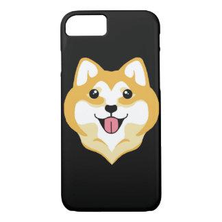 大きいスマイルのiPhone 7の場合@ Kiki Shiba iPhone 8/7ケース