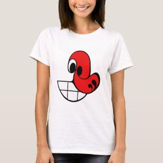 大きいスマイル Tシャツ