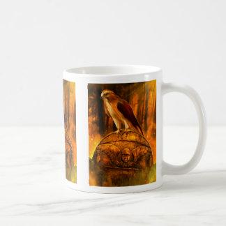 大きいタカの精神のマグ コーヒーマグカップ