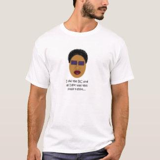 大きいチョップのTシャツ、蜂蜜 Tシャツ
