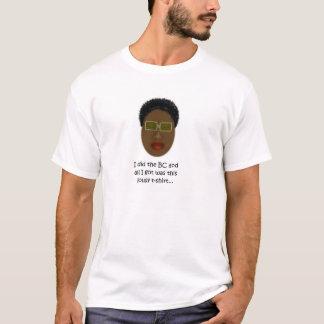 大きいチョップのTシャツ、Mahagony Tシャツ