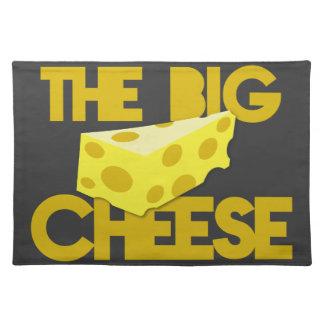 大きいチーズチーズとのボスのデザイン! ランチョンマット