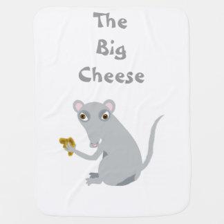 大きいチーズベビーブランケット ベビー ブランケット