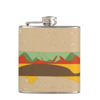大きいハンバーガーの引き継ぎのフラスコ フラスク
