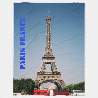 大きいパリフランスエッフェル塔のフリースブランケット フリースブランケット