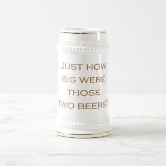 大きいビール ビールジョッキ