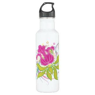 大きいピンク水Lilly ウォーターボトル