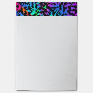 大きいフラクタルの迷彩柄パターン ポストイット