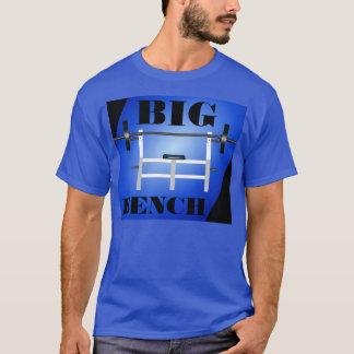 大きいベンチプレスの重量挙げのTシャツ Tシャツ
