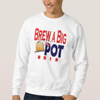 大きいポットを醸造して下さい スウェットシャツ