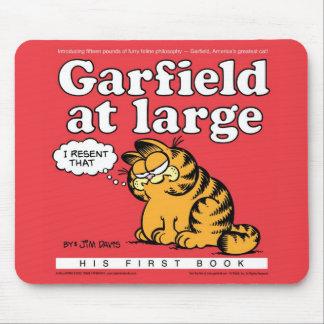 大きいマウスパッドのガーフィールド マウスパッド