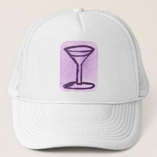 大きいマルティーニのプリントの帽子 キャップ