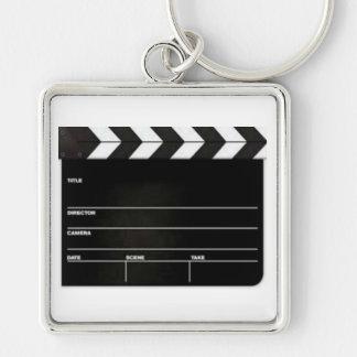 大きい下見板のフィルムの石板Keychain キーホルダー