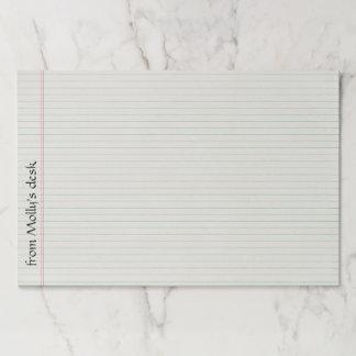 大きい並べられたノートのTearawayの紙のパッド ペーパーパッド