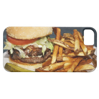 大きい二重半分のポンドのハンバーガーはコーラ揚がり、 iPhone SE/5/5s ケース