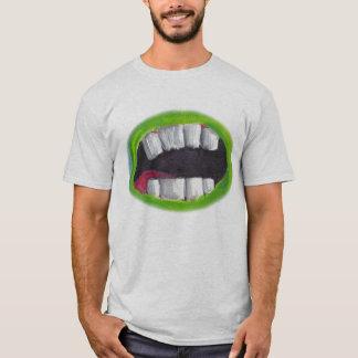 大きい口のワイシャツ Tシャツ