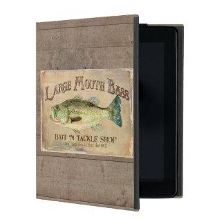大きい口の低音の餌nのtackle湖の装飾 iPad ケース