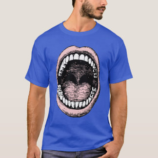 大きい口のTシャツ Tシャツ