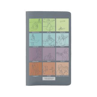 大きい場面ピッカーmoleskine - v2 ラージMoleskineノートブック
