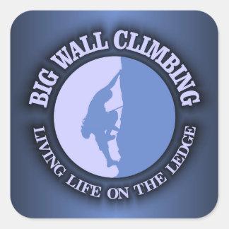 大きい壁の登山 スクエアシール
