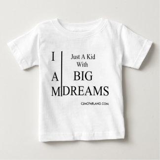 大きい夢の子供 ベビーTシャツ
