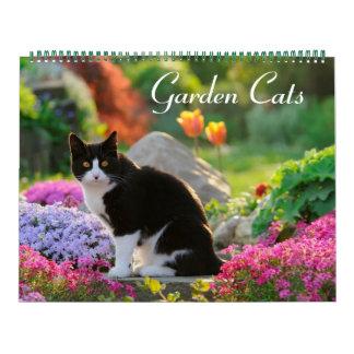大きい庭猫2017のサイズ カレンダー