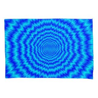 大きい強打の青 枕カバー