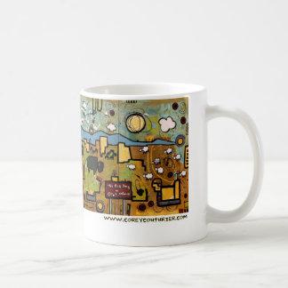 大きい強打 コーヒーマグカップ