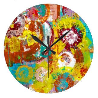 大きい強打 ラージ壁時計