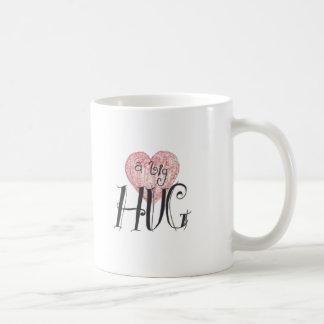 大きい抱擁 コーヒーマグカップ