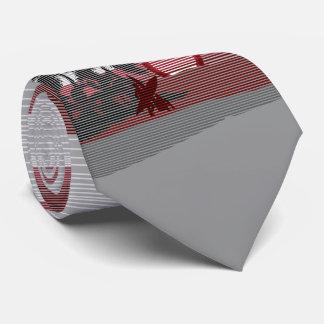 大きい日没のハワイ諸島は独身の味方しました ネクタイ