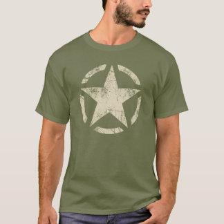 大きい星のグランジで動揺してなスタイル Tシャツ