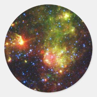 大きい星NASAの挨りだらけの死 ラウンドシール