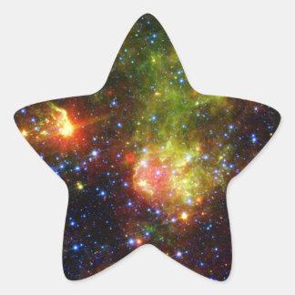 大きい星NASAの挨りだらけの死 星シール