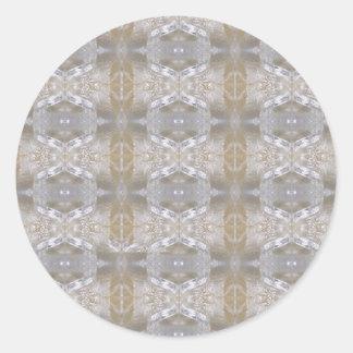 大きい水晶石造りの宝石DIYのテンプレートNVN442 ラウンドシール