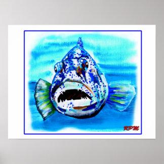 大きい池の大きい魚 ポスター