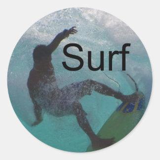 大きい波のサーフ ラウンドシール