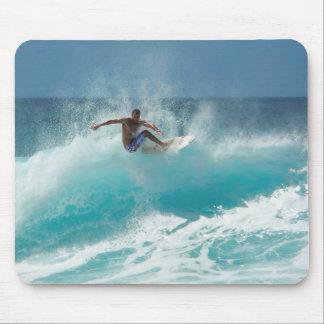 大きい波のmousepadのサーファー マウスパッド