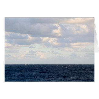 大きい海の小さいヨット カード