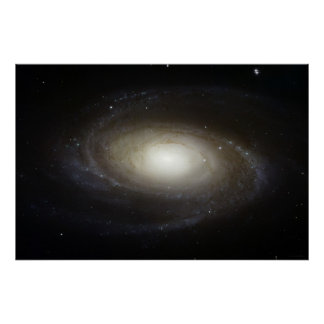 大きい渦状銀河M81 78x52 (75x50) ポスター