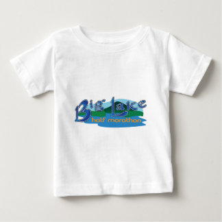 大きい湖の半分のマラソン ベビーTシャツ