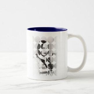 大きい点の写真のマグ ツートーンマグカップ