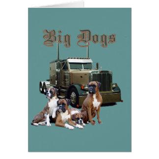 大きい犬 カード