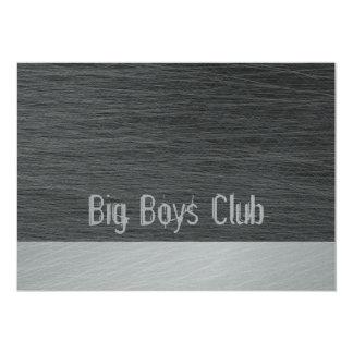 大きい男の子クラブ招待カード カード