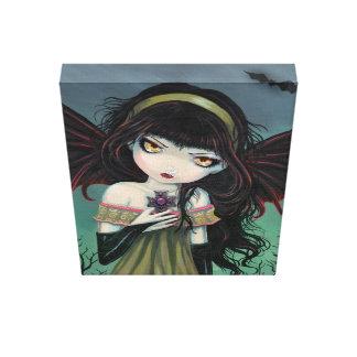 大きい目の吸血鬼のギャラリーのキャンバスプリントのプリント キャンバスプリント