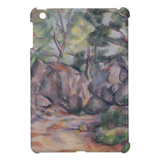 大きい石が付いている森林、1893年 iPad MINIケース