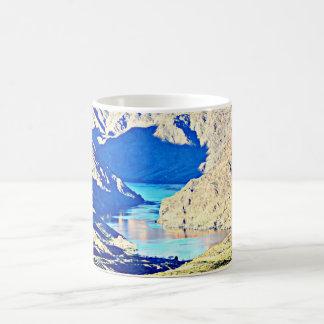 大きい石のコーヒーカップまたはマグのコロラド川 コーヒーマグカップ