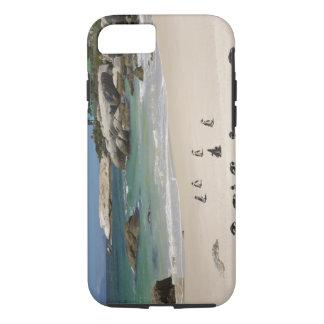 大きい石のビーチ、南Simonsの町のペンギン iPhone 8/7ケース