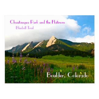 大きい石、コロラド州のヴィンテージのスタイル ポストカード