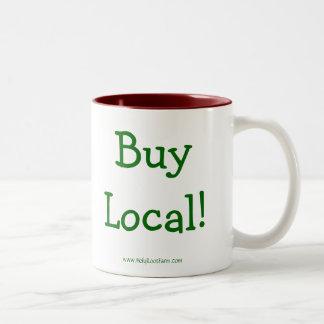 大きい神聖な根の農場の買物のローカルマグ- ツートーンマグカップ